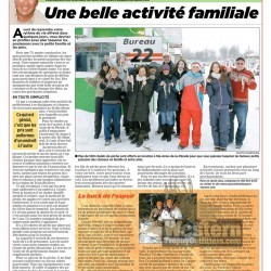 Article in Journal de Montréal about Western Trophy Outfitters - January 2013 (French) - page 1