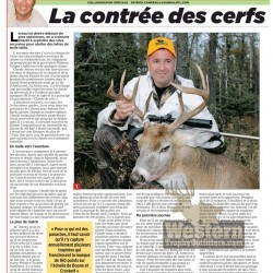 Article in Journal de Montréal about Western Trophy Outfitters - February 2011 (French) - page 1