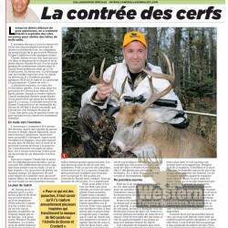 Article du Journal de Montréal sur Western Trophy Outfitters - février 2011 page 1